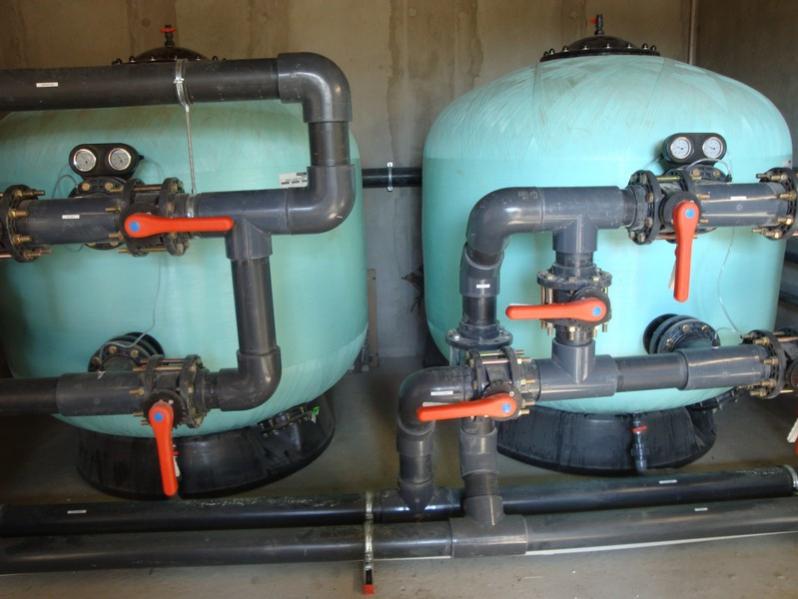 Filtration de la piscine