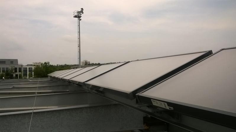 Panneaux solaires production ECS
