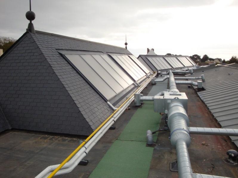 Préchauffage ECS solaire